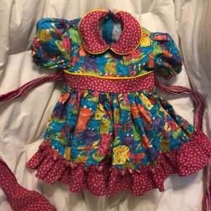 Princess whimsy Frog dress {exquisite!}